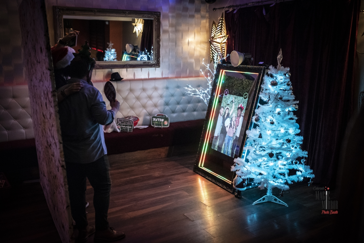 Photo Booth Alternative Christmas Party Ideas